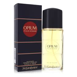Opium Cologne by Yves Saint Laurent, 3.3 oz Eau De Toilette Spray for Men