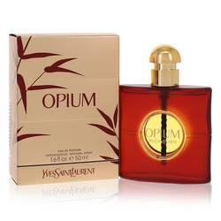 Opium Perfume by Yves Saint Laurent, 50 ml Eau De Parfum Spray (New Packaging) for Women