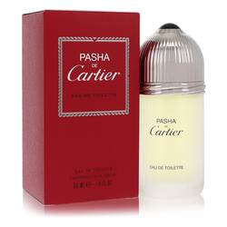 Pasha De Cartier Cologne by Cartier, 1.6 oz Eau De Toilette Spray for Men