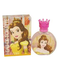 Beauty And The Beast Perfume by Disney, 100 ml Princess Belle Eau De Toilette Spray for Women from FragranceX.com