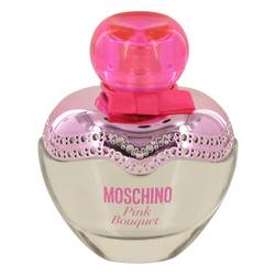 Moschino Pink Bouquet Perfume by Moschino, 1 oz Eau De Toilette Spray (unboxed) for Women
