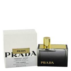 Prada L'eau Ambree Perfume by Prada, 2.7 oz Eau De Parfum Spray (Tester) for Women