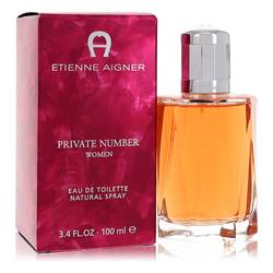Private Number Perfume by Etienne Aigner, 100 ml Eau De Toilette Spray for Women