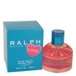 Ralph Lauren Love Perfume by Ralph Lauren, 100 ml Eau De Toilette Spray (2016) for Women