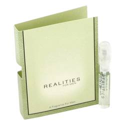 Realities Sample by Liz Claiborne, 1 ml Vial (sample) for Men from FragranceX.com