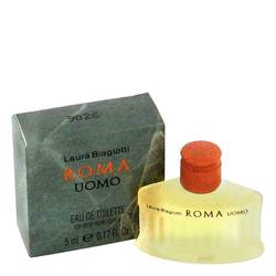 Roma Mini by Laura Biagiotti, 5 ml Mini EDT for Men from FragranceX.com