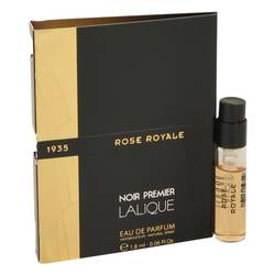 Rose Royale Sample by Lalique, 2 ml Vial (sample) for Women from FragranceX.com