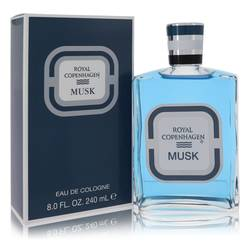 Royal Copenhagen Musk Cologne by Royal Copenhagen, 8 oz Cologne for Men