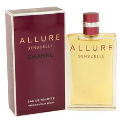 Allure Sensuelle Perfume by Chanel, 3.4 oz EDT Spray for Women