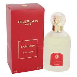 Samsara Perfume by Guerlain, 50 ml Eau De Toilette Spray for Women from FragranceX.com