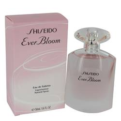 Shiseido Ever Bloom Perfume by Shiseido, 50 ml Eau De Toilette Spray for Women