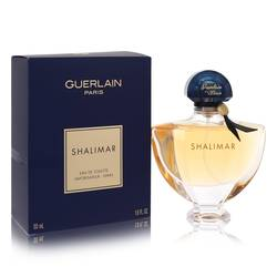Shalimar Perfume by Guerlain, 50 ml Eau De Toilette Spray for Women from FragranceX.com