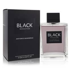 Seduction In Black Cologne by Antonio Banderas, 200 ml Eau De Toilette Spray for Men