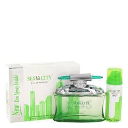 Sex In The City Kiss Perfume by Unknown, 3.4 oz Eau De Parfum Spray + Free 1.7 oz Deodorant Spray for Women
