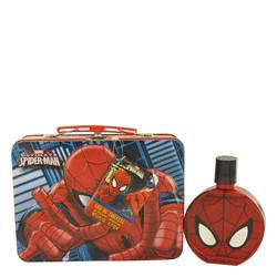 Spiderman Cologne by Marvel, 3.4 oz Eau De Toilette Spray with Free Lunch Box for Men SM34TSLK