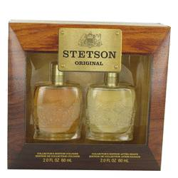 Stetson Gift Set by Coty Gift Set for Men Includes 2 oz Cologne + 2 oz After Shave