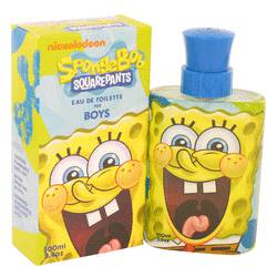 Spongebob Squarepants Cologne by Nickelodeon, 100 ml Eau De Toilette Spray (New Packaging) for Men