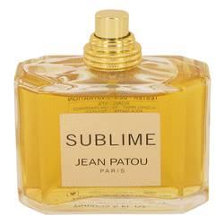 Sublime Perfume by Jean Patou, 2.5 oz Eau De Toilette Spray (Tester) for Women