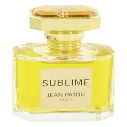 Sublime Perfume by Jean Patou, 50 ml Eau De Parfum Spray (unboxed) for Women