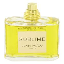 Sublime Perfume by Jean Patou, 75 ml Eau De Parfum Spray (Tester) for Women from FragranceX.com