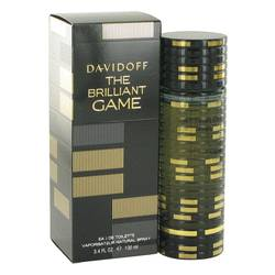 The Brilliant Game Cologne by Davidoff, 100 ml Eau De Toilette Spray for Men