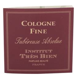 Tubereuse Absolue Sample by Institut Tres Bien, .01 oz Sample Pouch for Women