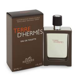 Terre D'hermes Cologne by Hermes, 30 ml Eau De Toilette Spray Refillable for Men