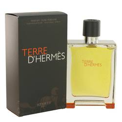 Terre D'hermes Cologne by Hermes, 200 ml Pure Perfume Spray for Men