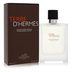 Terre D'hermes After Shave by Hermes, 100 ml After Shave Lotion for Men