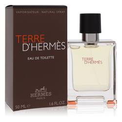 Terre D'hermes Cologne by Hermes, 50 ml Eau De Toilette Spray for Men from FragranceX.com