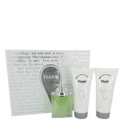 Tiamo Gift Set by Parfum Blaze Gift Set for Men Includes 3.4 oz Eau De Parfum Spray + 6.8 oz After Shave + 6.8 oz Shower Gel