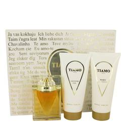 Tiamo Gift Set by Parfum Blaze Gift Set for Women Includes 3.4 oz Eau De Parfum Spray + 6.8 oz Body