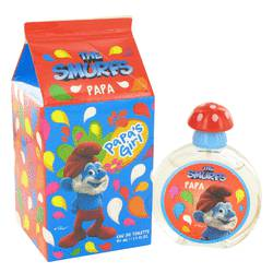 The Smurfs Perfume by Smurfs, 1.7 oz Papa's Girl Eau De Toilette Spray for Women