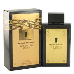 The Golden Secret Cologne by Antonio Banderas, 200 ml Eau De Toilette Spray for Men