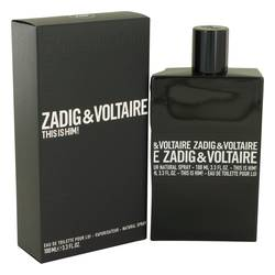 This Is Him Cologne by Zadig & Voltaire, 3.4 oz Eau De Toilette Spray for Men