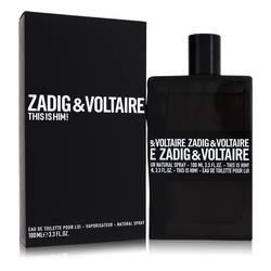 This Is Him Cologne by Zadig & Voltaire, 100 ml Eau De Toilette Spray for Men