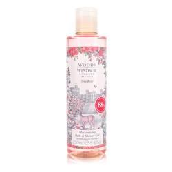 True Rose Shower Gel by Woods of Windsor, 248 ml Shower Gel for Women