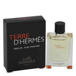 Terre D'hermes Pure Perfume by Hermes, 5 ml Mini Pure Perfume for Men