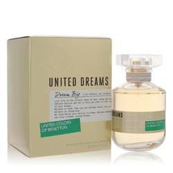 United Dreams Dream Big Perfume by Benetton, 80 ml Eau De Toilette Spray for Women