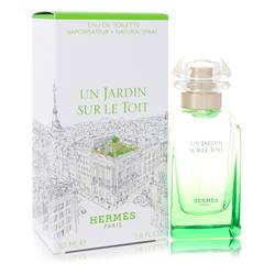 Un Jardin Sur Le Toit Perfume by Hermes, 50 ml Eau De Toilette Spray for Women
