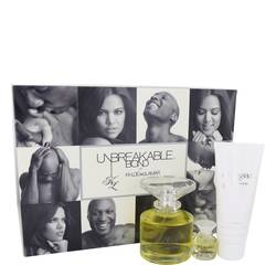 Unbreakable Bond Gift Set by Khloe and Lamar Gift Set for Women Includes 3.4 oz Eau De Toilette Spray + .25 oz Mini EDT Spray ++ 3.4 oz Body Lotion
