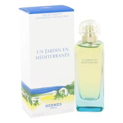 Un Jardin En Mediterranee Cologne by Hermes, 100 ml Eau De Toilette Spray for Men