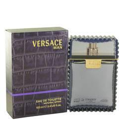 Versace Man Cologne by Versace, 3.3 oz Eau De Toilette Spray for Men