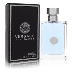 Versace Pour Homme Cologne by Versace, 100 ml Eau De Toilette Spray for Men from FragranceX.com
