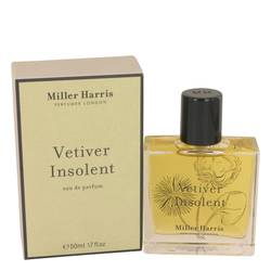 Vetiver Insolent Perfume by Miller Harris, 50 ml Eau De Parfum Spray for Women