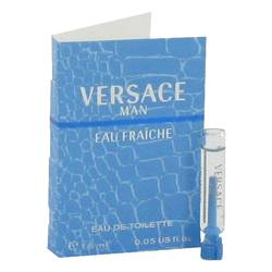 Versace Man Sample by Versace, 1 ml Vial (sample) Eau Fraiche for Men from FragranceX.com
