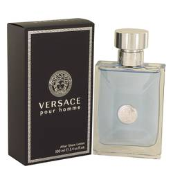 Versace Pour Homme After Shave by Versace, 100 ml After Shave Lotion for Men