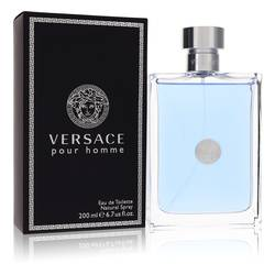 Versace Pour Homme Cologne by Versace, 200 ml Eau De Toilette Spray for Men from FragranceX.com