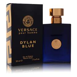 Versace Pour Homme Dylan Blue Cologne by Versace, 50 ml Eau De Toilette Spray for Men from FragranceX.com