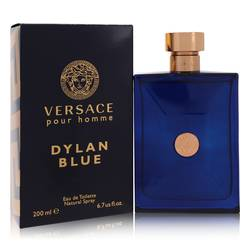 Versace Pour Homme Dylan Blue Cologne by Versace, 200 ml Eau De Toilette Spray for Men from FragranceX.com